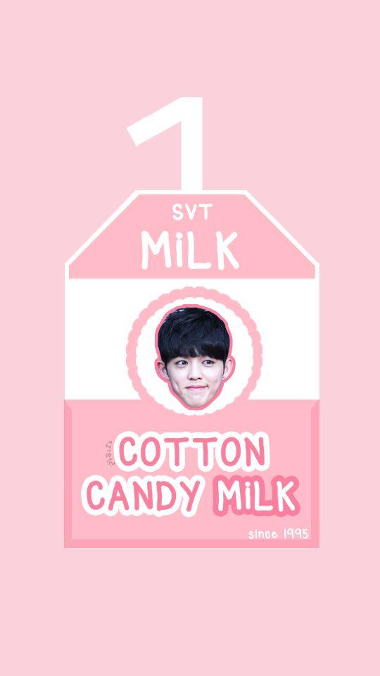 SEVENTEEN MILK BOX [COTTON CANDY MILK - S.COUPS] #seventeen #svt #carat #17 #love&letter #repackagealbum #verynice #scoups #hoshi #jun #joshua #woozi #dokyeom #mingyu #the8 #vernon #seungkwan #jeonghan #wonwoo #dino #wallpaper