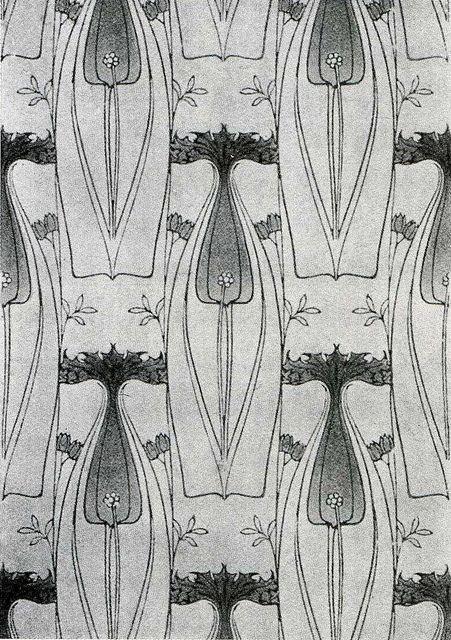 Harry Napper -- 'Portledge' 1906 [wallpaper], by Design Decoration Craft, via Flickr
