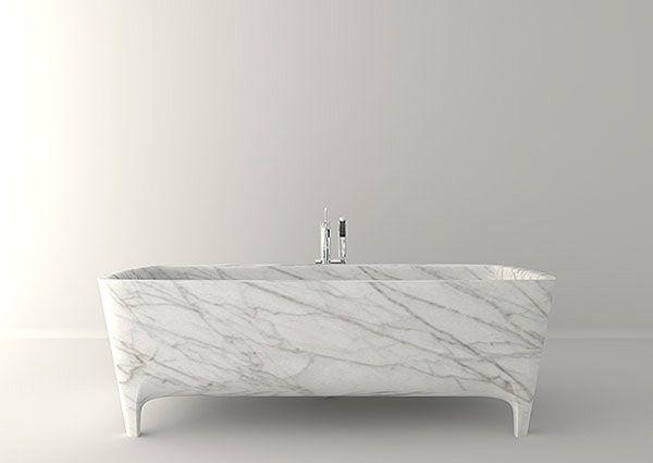 Las bañeras exentas son más que tendencia para el baño.