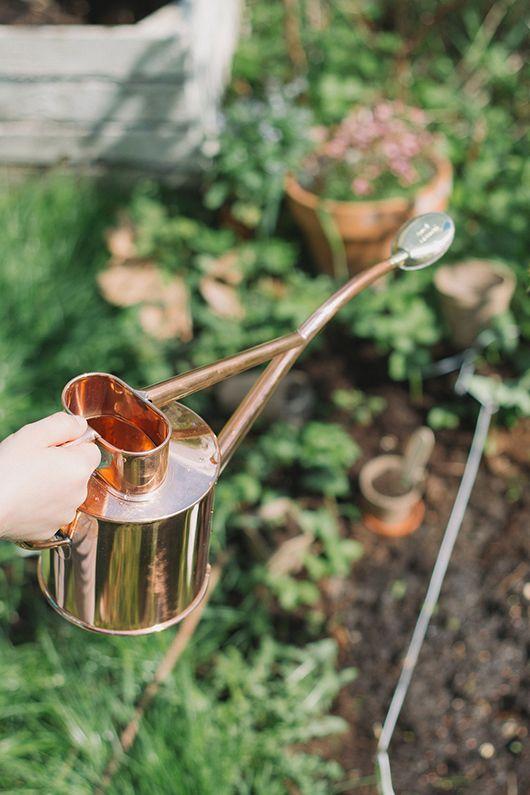 copper watering can ~ thisispaper | sfgirlbybay