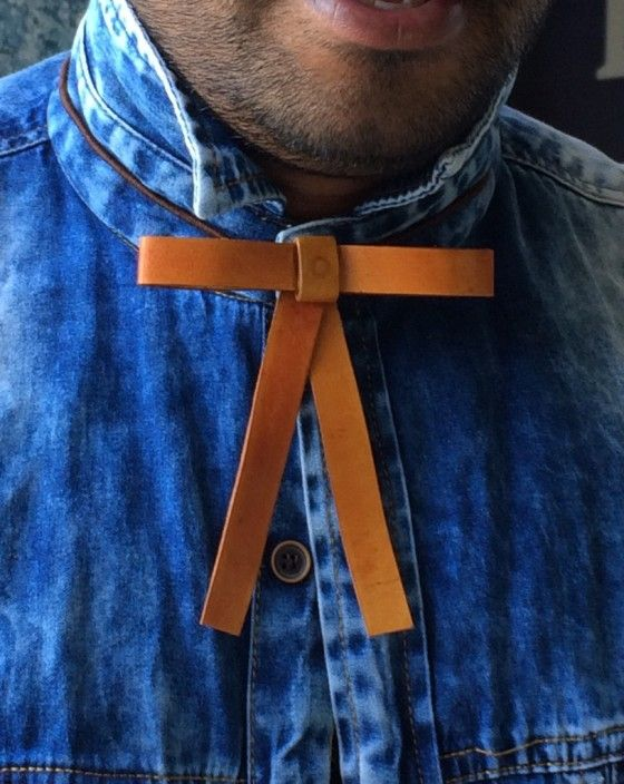 Shopo.in : Buy Leather Bow, Men's Fashion Tie & Bow. online at best price in Udaipur, India