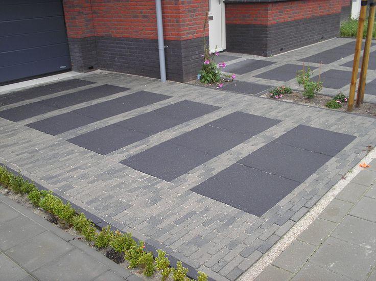 Betonnen oprit prijs google zoeken tuin pinterest pavement - Tuin oprit plaat ...