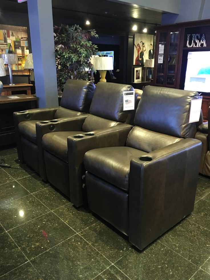 you can almost feel how smooth and luxurious this leather seating set really is just by movies houstonhome theater - Home Theater Furniture Houston