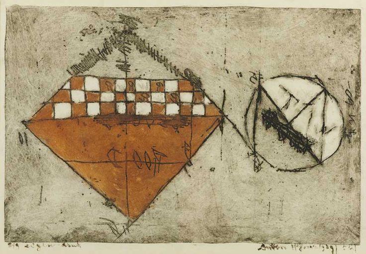 Anton Heyboer etching