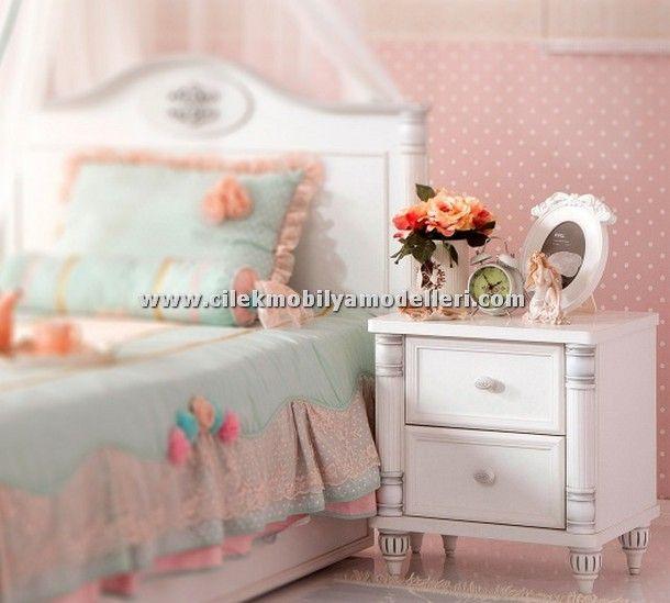 Çilek Mobilya Romantic Genç Odası