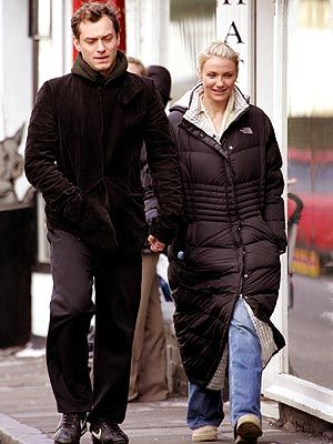 Cameron Diaz won't be cold in the North Face Triple C.