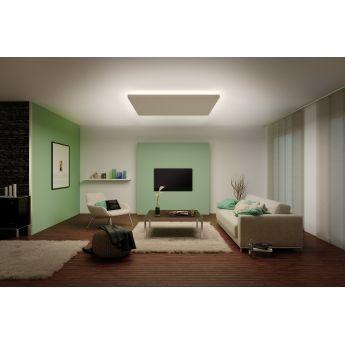 Ruban LED - kit 3 m - MaxLED 1000 - blanc chaud - Paulmann Ce ruban LED de 3 mètres puissance 40W est vendu en kit complet prêt à l'emploi avec câble d'alimentation, transformateur et fiche secteur. Le bandeau LED de 3 mètres de coloris gris argent est équipé d'un adhésif afin de faciliter le montage et offre une lumière d'ambiance blanc chaud qui mettra en valeur vos étagères, commodes, escaliers ou contours de meuble.