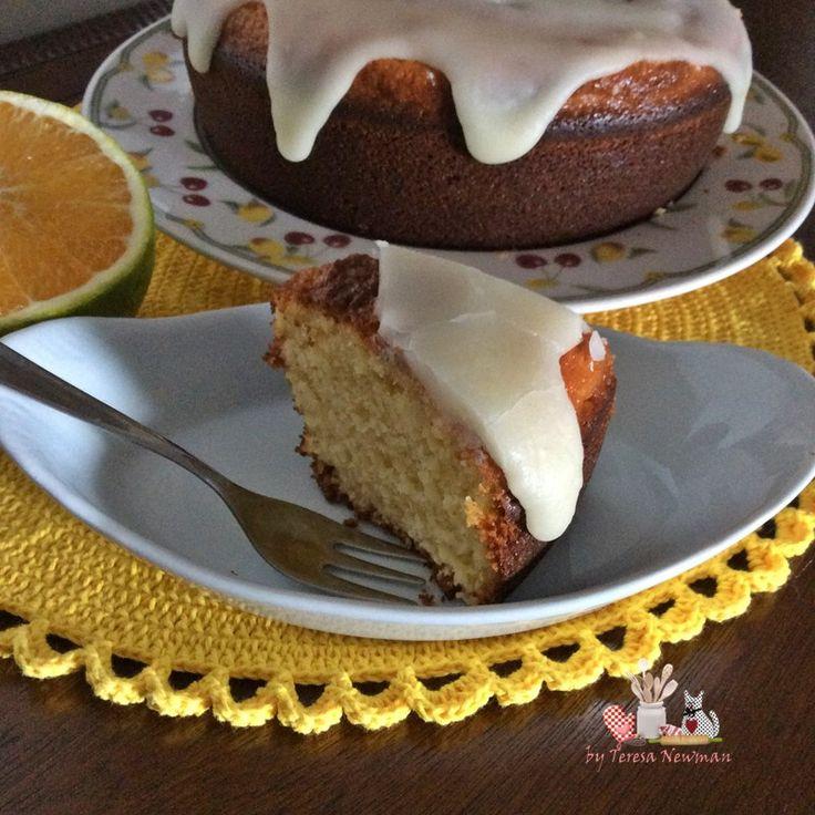 Cobertura de bolo de laranja