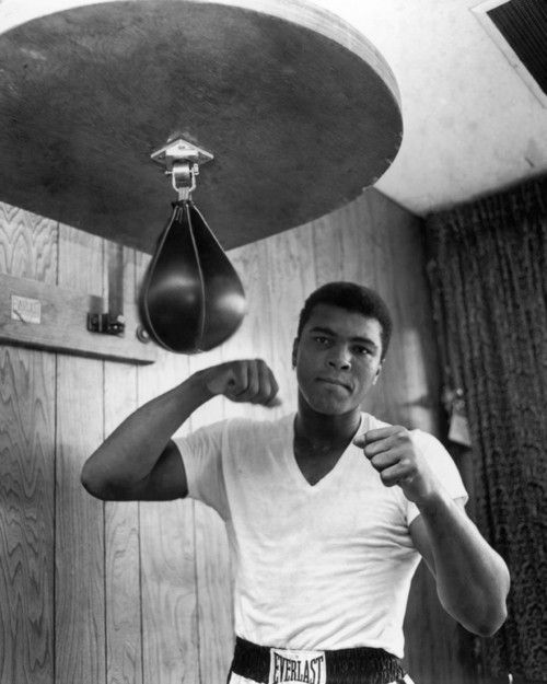 'A man who views the world the same at fifty as he did at twenty has wasted thirty years of his life.' Muhammed Ali