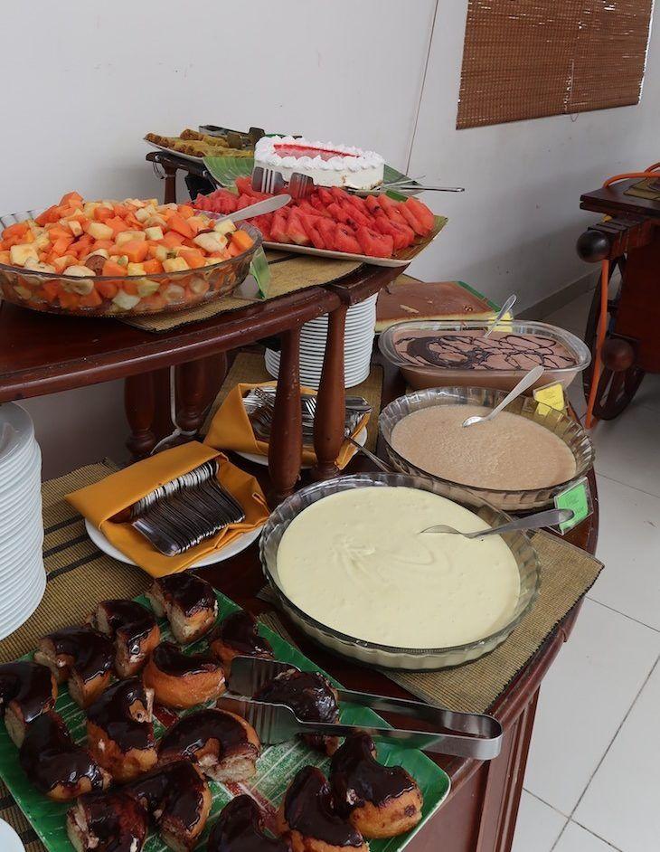 Sobremesas no Restaurante Raja Bojun - Colombo - Sri Lanka © Viaje Comigo