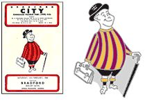 ... of club crests and characters adopted by Bradford City AFC since 1903