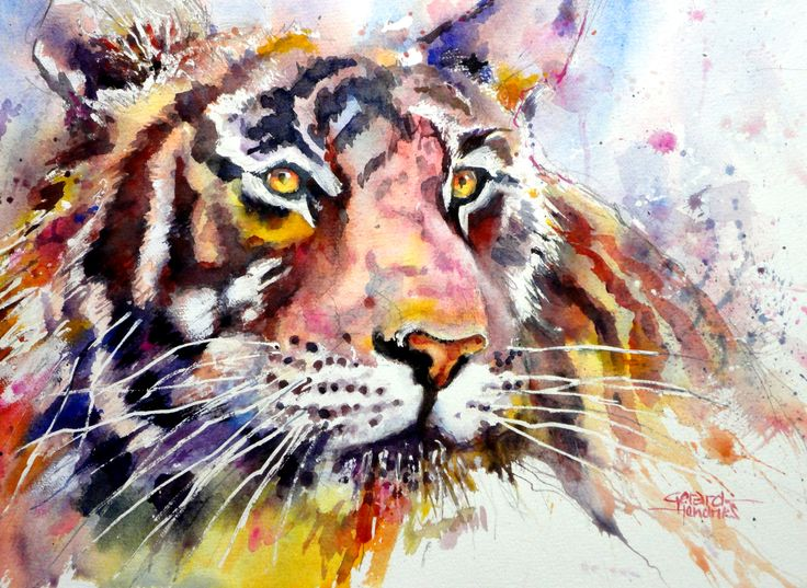 Siberische tijger by Gerard Hendriks