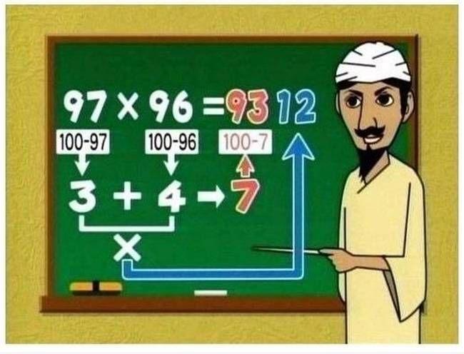 Nunca perdonarás a tus maestros por no haberte enseñado estos 7 trucos matemáticos