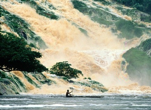 Kongou Falls, Gabon, Africa.: Africans Landscape, National Geographic, Ivindo National, Gabon Africa, National Parks, Awesome Pin, Parks Gabon, Water Fall, Thankskongou Fall