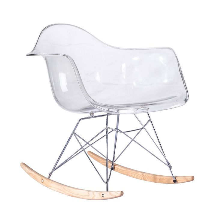 Silla balanc n tower arms clear edition sillas icono for Chaise 0 bascule