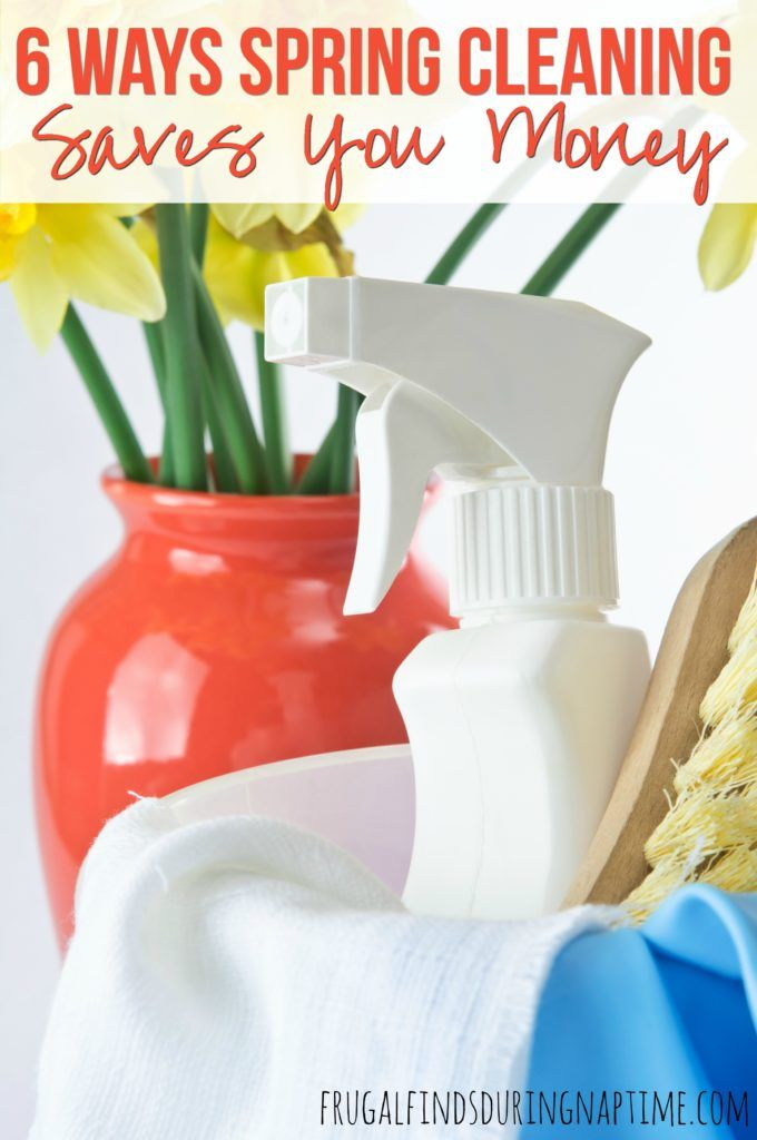 Spring cleaning is a frugal activity that can help you to save money! See how Spring Cleaning can save you money.