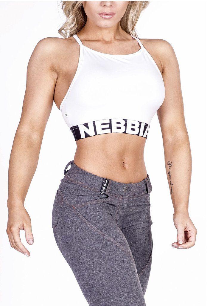 7b8aa93811 NEBBIA White Mini Top 285