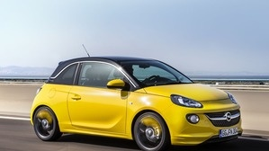 Opel Adam OPC - Yellow Car