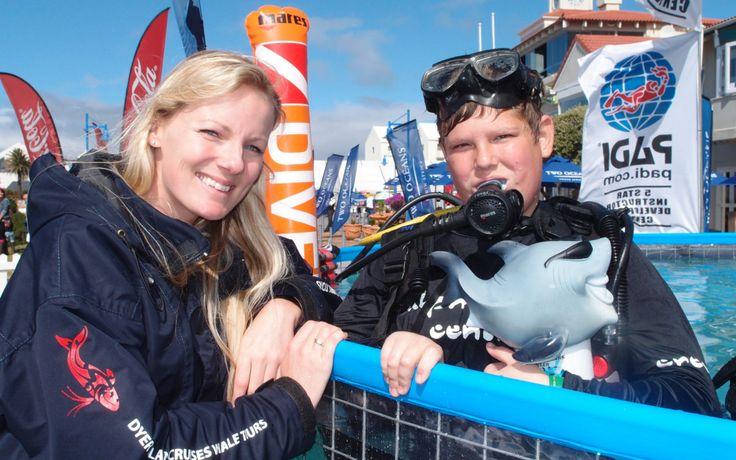Hermanus whale festival - try scuba