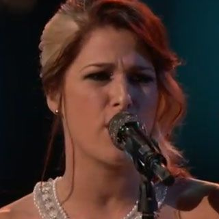 Cassadee Pope is a true artist, just like Blake Shelton says. Loved her song tonight.