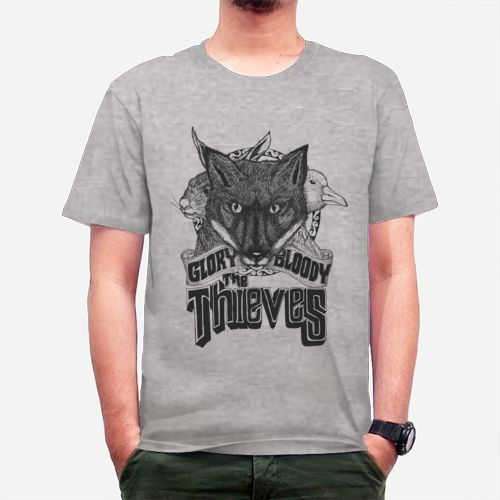 the thieves,fox, typography, tees