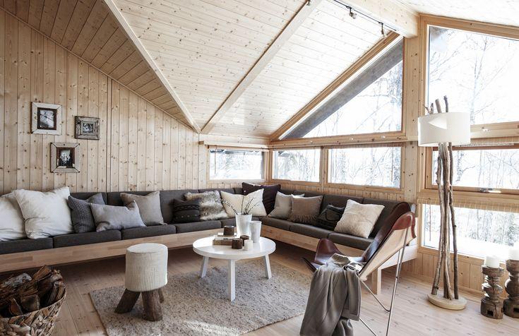 https://flic.kr/p/echd61 | Stue i Hedda-hytte | Interiør Hedda-hytta. Foto: Bjørgli/Bergersen. Styling: KråkvikD'Orazio