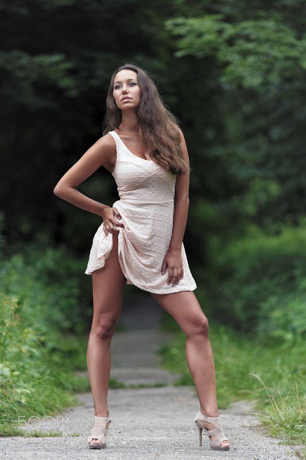 Michaela by Libor | Slip dress, Dresses, Fashion