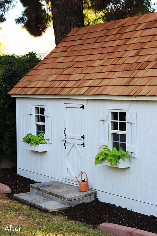 Before and After: A DIY Playhouse that Adults will Envy