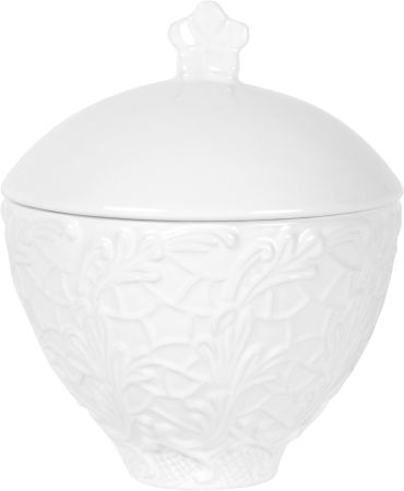 Mateus - Small lace bowl with lid, 20CL / 6,75""