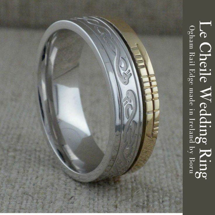 creations irish ogham faith celtic wedding collection rings bands