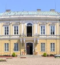 """Skierniewice Palace in Poland at present times. """"AL"""""""
