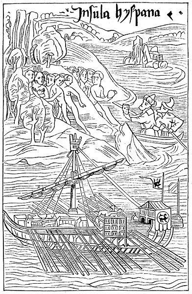 Efemérides :: 12 de octubre Colón desembarca en Guanahaní (islas Bahamas) el 12 de octubre de 1492. Qué pasó tal día como hoy?  1492. Finaliza el viaje de Cristóbal Colón con el desembarco de un grupo de españoles en un islote del archipiélago de las Lucayas al que llamarían San Salvador. 1745. Nace Félix María de Samaniego fabulista español. 1778. Decreto que pone fin al monopolio del comercio de España con América ejercido sucesivamente por Sevilla y Cádiz. 1808. Firma del convenio de…