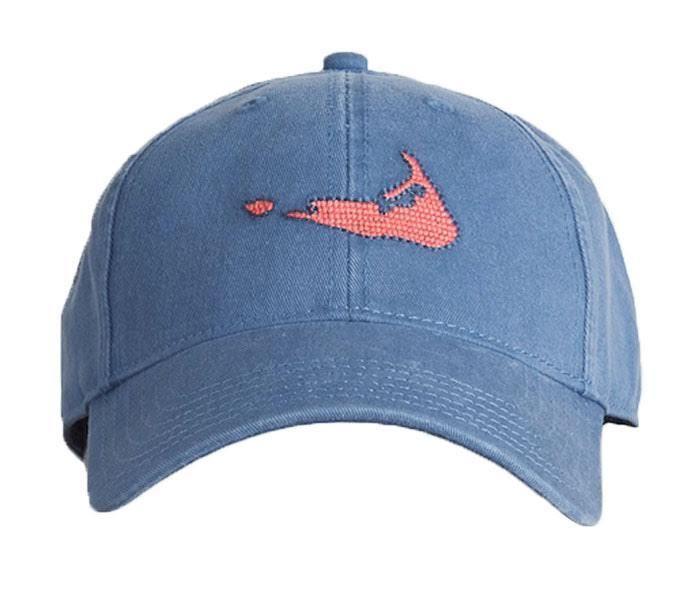 Nantucket On Slate Blue Hat Needlepoint Hat Navy Hats Baseball Hats