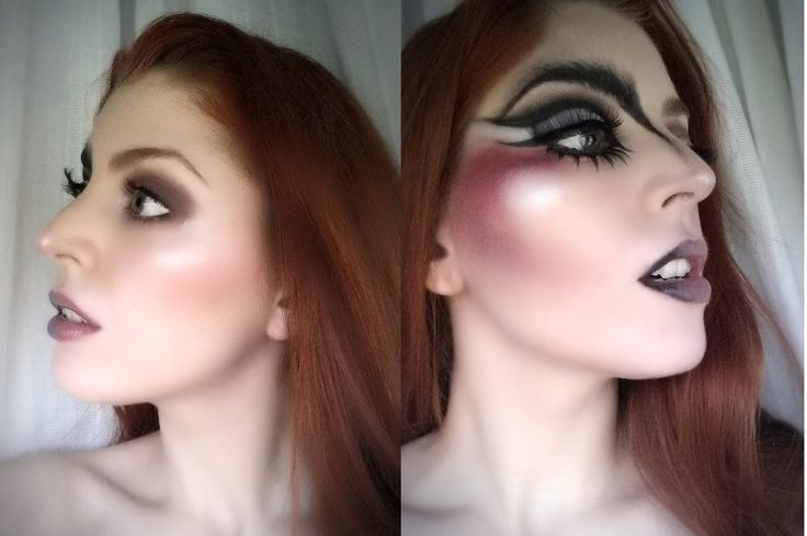 Black Swan vs White Swan Makeup