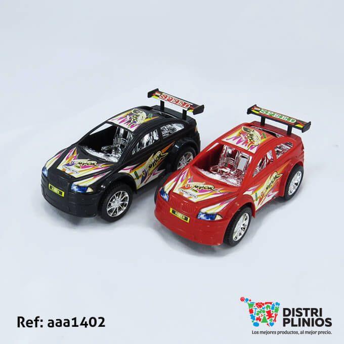 Divertido carro de carreras mediano, de impulso de color rojo y negro para niño, ideal para regalar. Medidas: Alto: 17 cms. Largo: 7 cms. Ancho: 9 cms. Los precios de nuestro sitio web son al por mayor, el costo de los productos se incrementa en compras por unidad, cualquier inquietud comuníquese al 320 3083208 o al 3423674 o visítenos en la Calle 12 B # 8a – 03 Centro, Bogotá, Colombia.