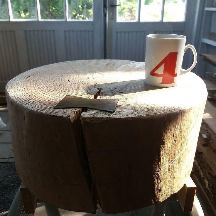 Testing new coffee table - the right way  great succes!... #workinprogress #woodwork #woodworking #design #furnituredesign #møbeldesign #træ de twinwood.dk