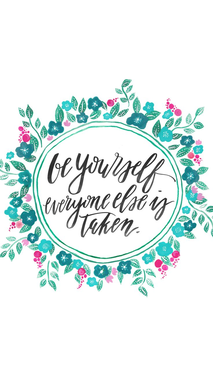 Be yourself everyone else is taken ★ Find more Inspirational Quotes for your #iPhone + #Android @prettywallpaper