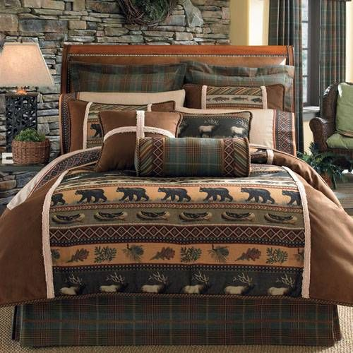 Croscill Caribou Bedding By Croscill, Comforters, Comforter Sets, Duvets, Bedspread, Quilts, Sheets & Pillows: The Home Decorating Company
