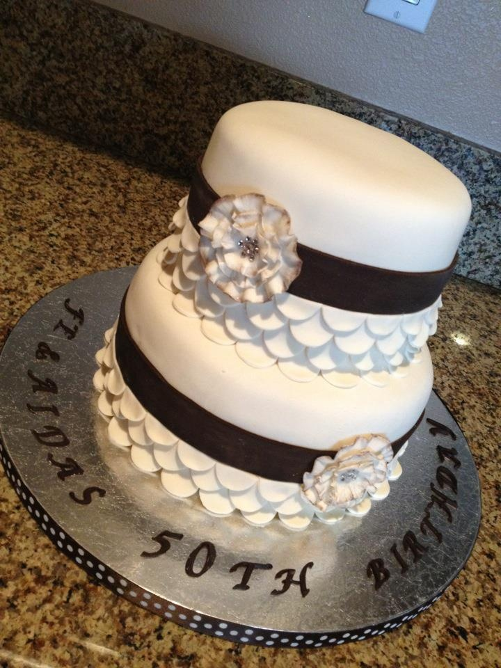 50th Birthday Cake 50th Birthday Cakes Pinterest