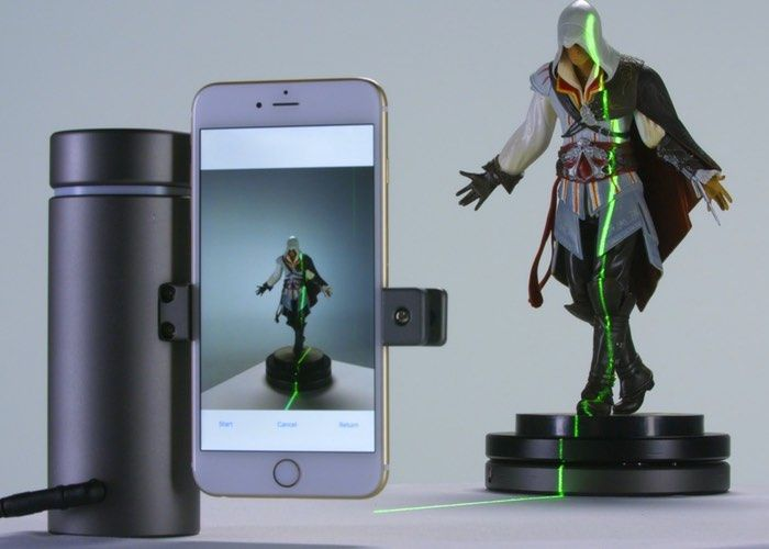 eora 3D Smartphone 3D Scanner Raises Over $570,000 From Kickstarter - The world's first high-precision 3D scanner that is entirely powered by a modern smartphone. It lets you capture everyday physical objects and surfaces and turns them into high-quality 3D models, all on your phone, making it extremely affordable.   Geeky Gadgets