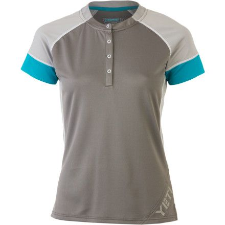 Storm is an excellent color. Yeti CyclesMonarch Jersey - Short-Sleeve - Women's