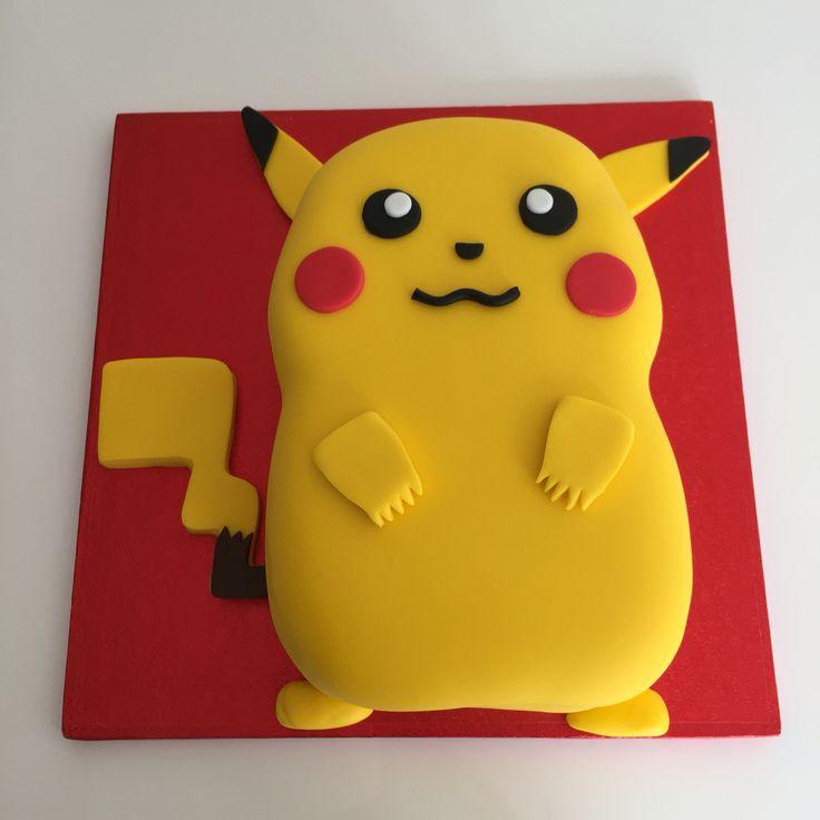 Pikachu Pokemon Cake Images
