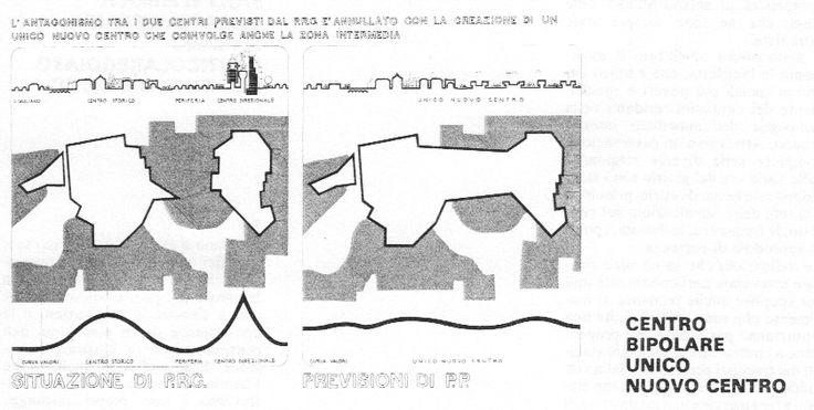 Giancarlo De Carlo, Rimini, 1973 - centro bipolare/unico