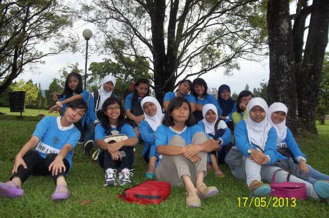 @ Taman Bunga Nusantara, Cipanas - West Java. (Study Tour)