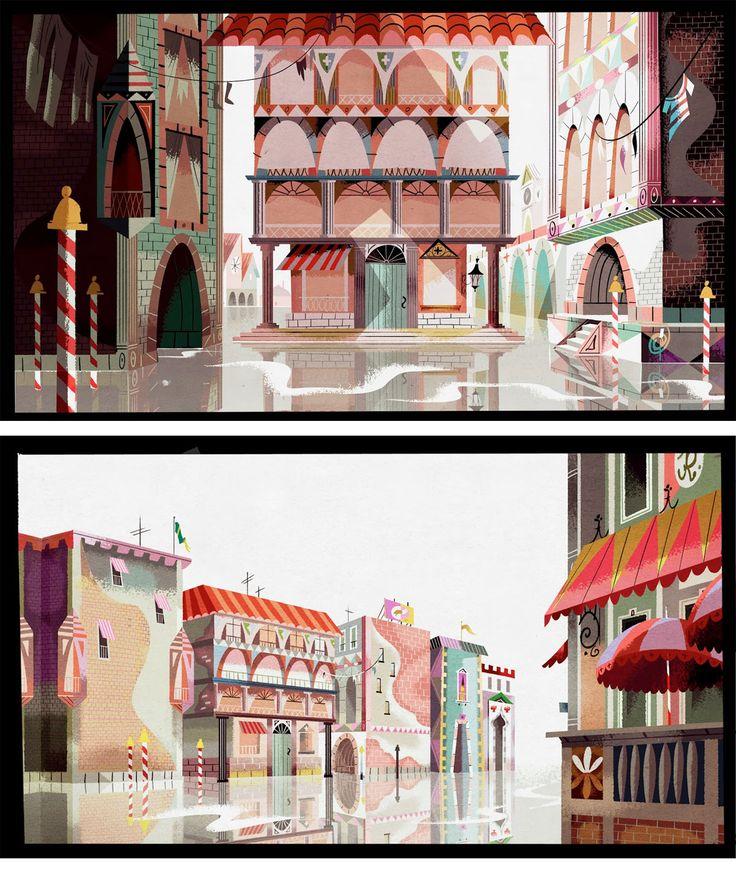 http://www.conceptartblog.com    Layout: Justin Parpan   Cores: Chris Roszak, Jenny Baker, Narina Sokolova,   Direção de arte: Joseph Holt.   Storyboards: Alonso Ramirez Ramos