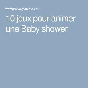 10 jeux pour animer une Baby shower