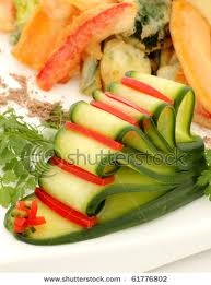 food garnish ideas - Google zoeken