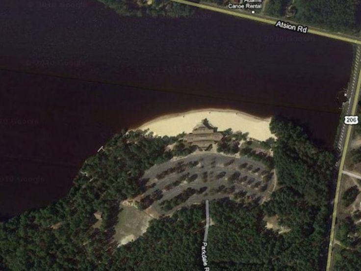 Atsion Lake - swimming