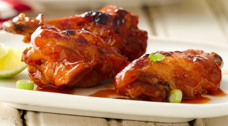 Slow Cooker Buffalo-Barbecue Chicken Wings – Weight Watchers Recipes
