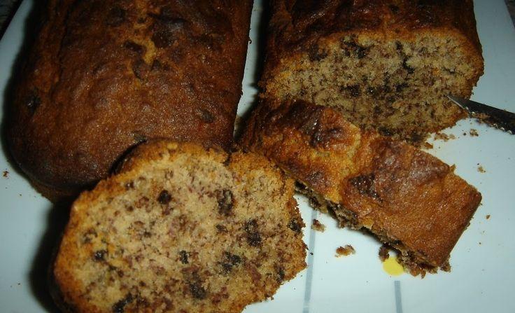 Η φίλη μου η Κωνσταντίνα έκανε πάλι το θαύμα της... Μου έδωσε μια πανεύκολη και πεντανόστιμη αμερικάνικη συνταγή για κέικ, banana bread το ...